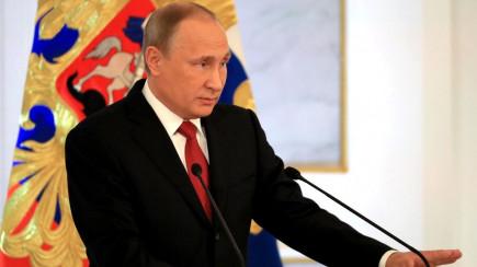 Выступление Влаимира Путина перед Федеральным Собранием.