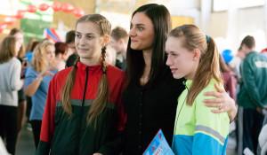 Соревнования под присмотром Исинбаевой и Шубенкова.