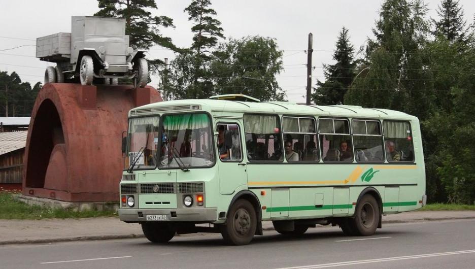 Автобус в Бийске