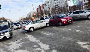 ДТП на улице Попова. 11 декабря 2016 года.