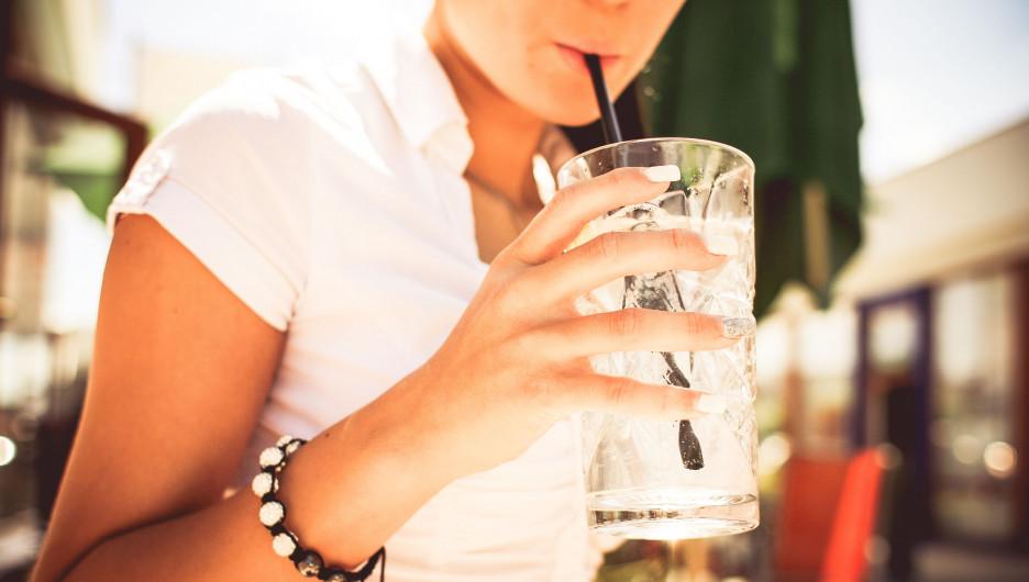 Прохладительный напиток.