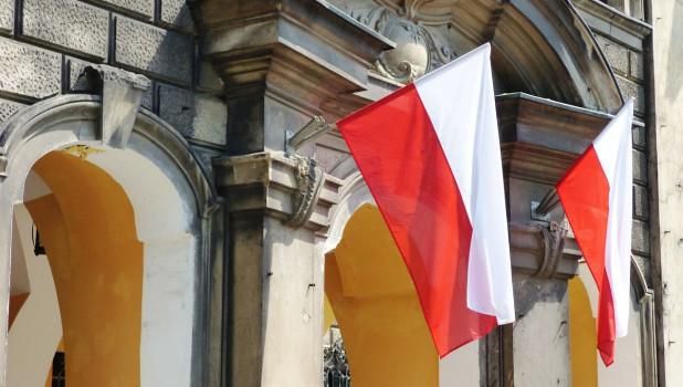 Флаги Польши.