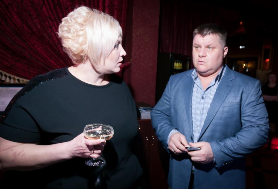 Светлана Сапожникова с супругом.