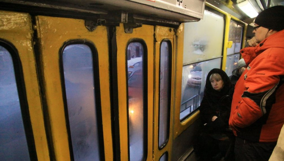 Общественный транспорт. Трамвай.