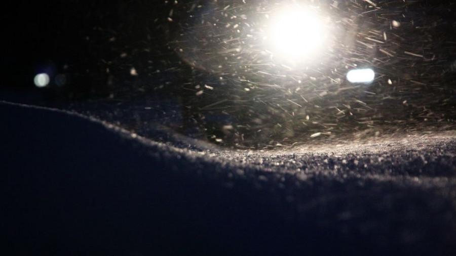 Метель, снегопад.