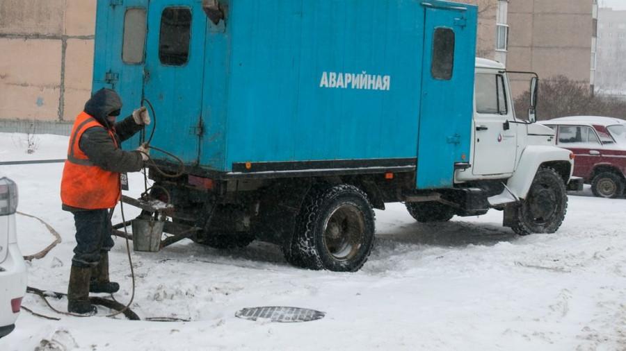 Коммунальная авария на Ядринцева.