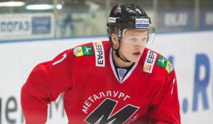 Новокузнецкий хоккеист Кирилл Капризов.