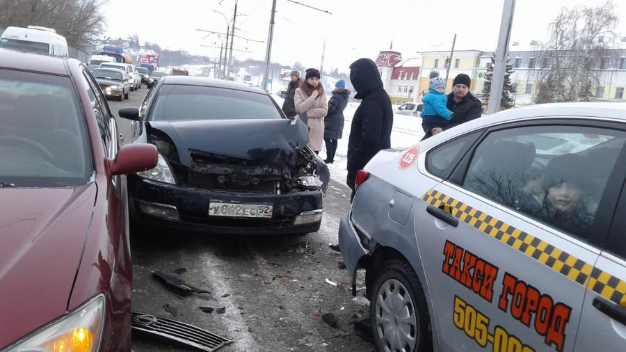 ДТП на Красноармейском проспекте. 9 января 2017 года.