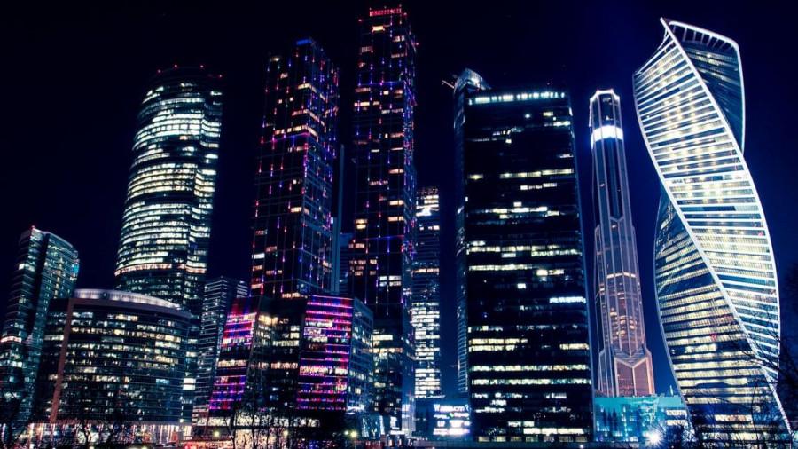 Москва. Москва-Сити.