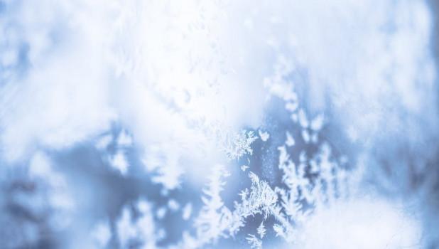 Зима. Морозные узоры.