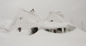 Снег. Много снега.