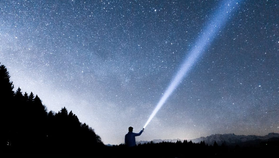 Космос. Звездное небо.