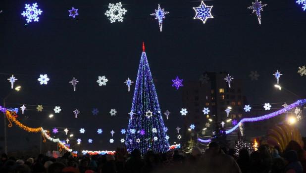 Зима. Площадь Сахарова.