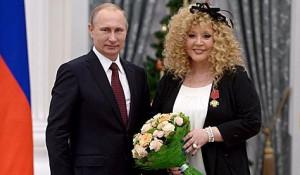 Путин и Пугачева.