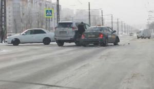 ДТП с такси в Барнауле
