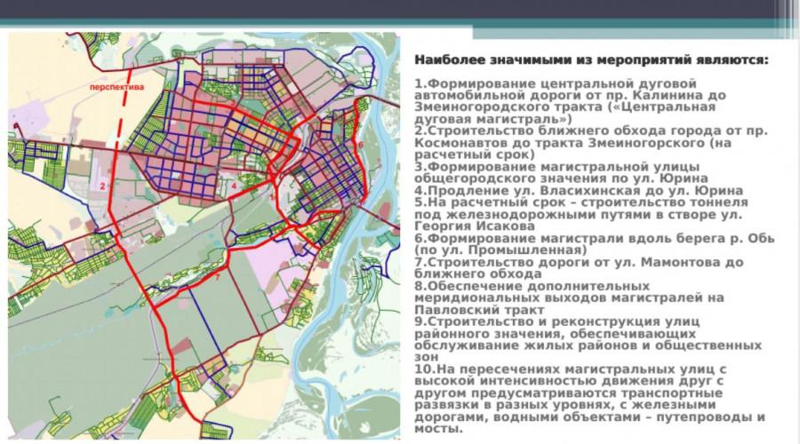 Проект дорого в Барнауле.