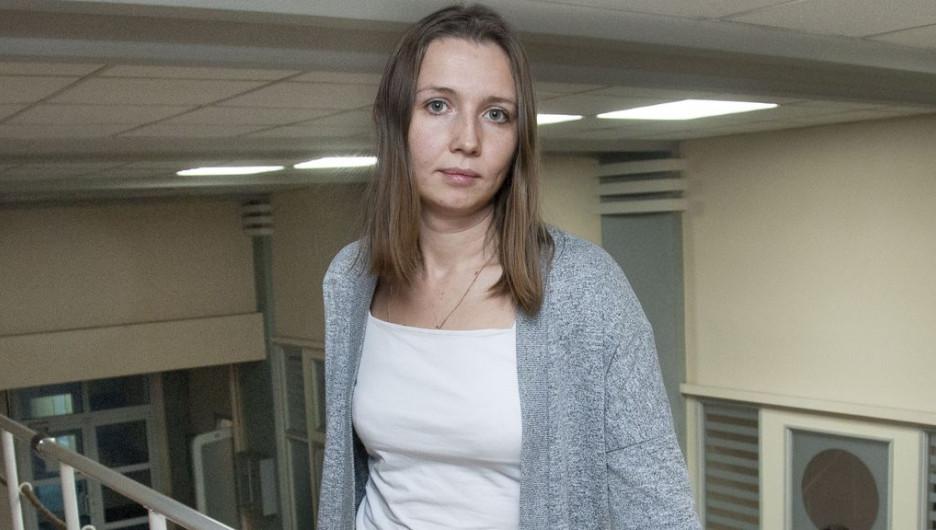 """Анастасия Немчинова, главный архитектор проекта института """"Гипрогор""""."""