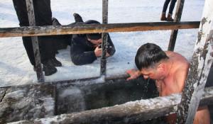 Крещение в Барнауле. 19 января 2017 года.