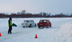 В Барнауле прошел первый этап кубка по зимнему дрифту