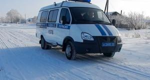 Полиция зимой.