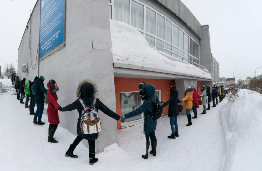 Татьянин день в Алтайском госуниверситете. 25 января 2017 года.