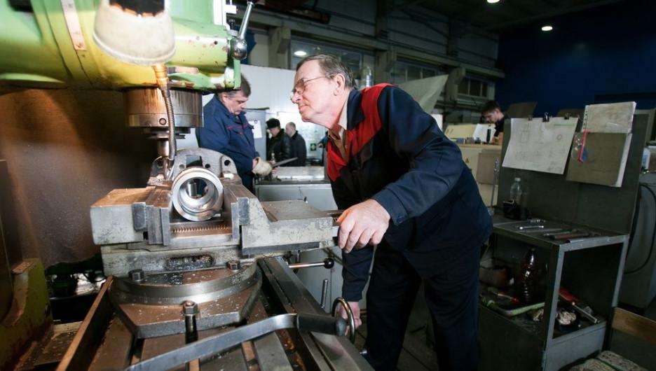 Алтайское промышленное предприятие запустит новый цех.