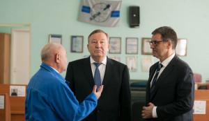 Расширенное заседание Союза промышленников Алтайского края.