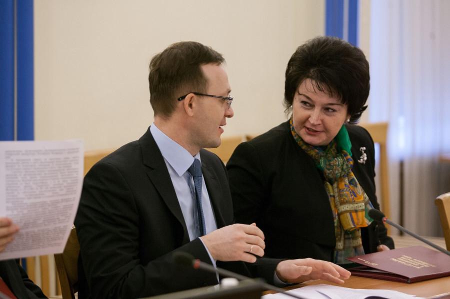 Иван Гилев и Ирина Долгова.