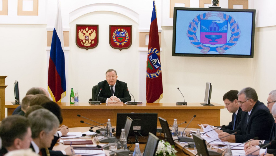 Правительство Алтайского края.