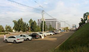 Проект нового корпуса АлтГУ на пересечении проспекта Социалистического и улицы Димитрова.