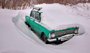 """Барнаульские """"авто-сугробы"""""""