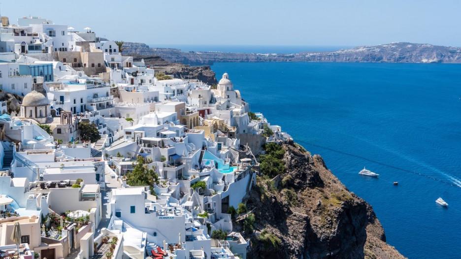 Туризм. Отдых на море. Греция.