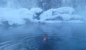 Французский турист из Тулузы отдохнул на Алтае зимой 2017 года.