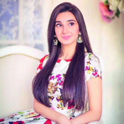 Карина, дочь Валида Газиева.