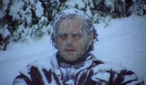 Ну очень сильные морозы.
