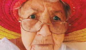 Старушка. Пенсионерка.