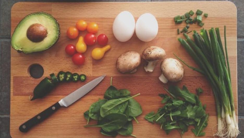 Овощи, еда.
