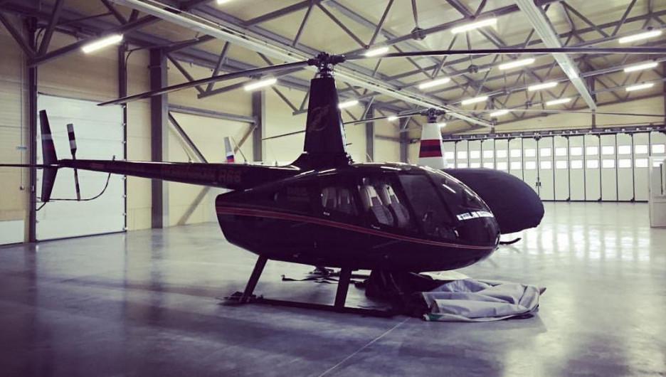 Вертолет Robinson-66.