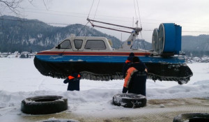 Поисково-спасательная операция на Телецком озере.