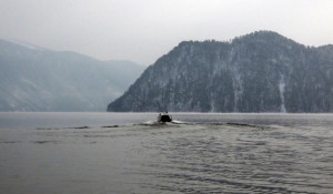 Поисковая операция на Телецком озере. 14 февраля 2017 года.
