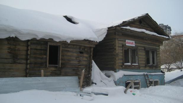 Дом по адресу Партизанская, 62а заброшен уже не первый год