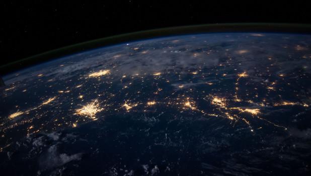 Земля из космоса. МКС.