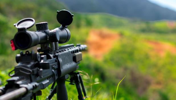 Военные. Снайпер.