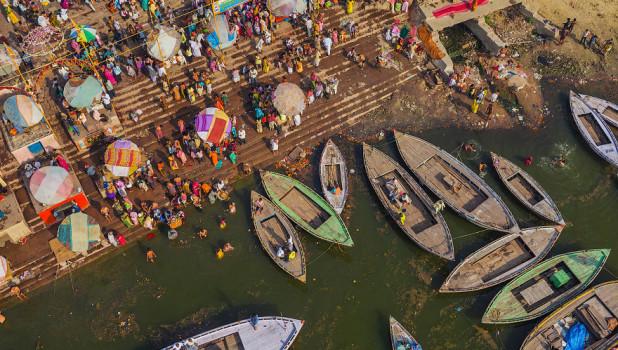 Варнаси, Индия.