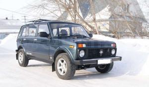 220 мм - Lada 4x4 (2131) в Барнауле