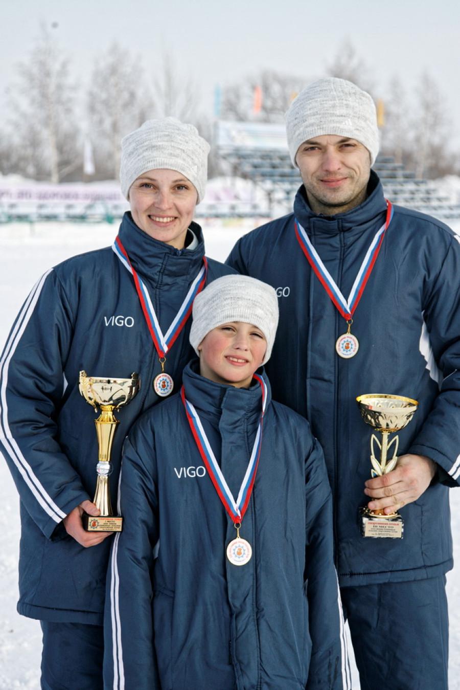 Спортивная семья Ядыкиных из Кытмановского района