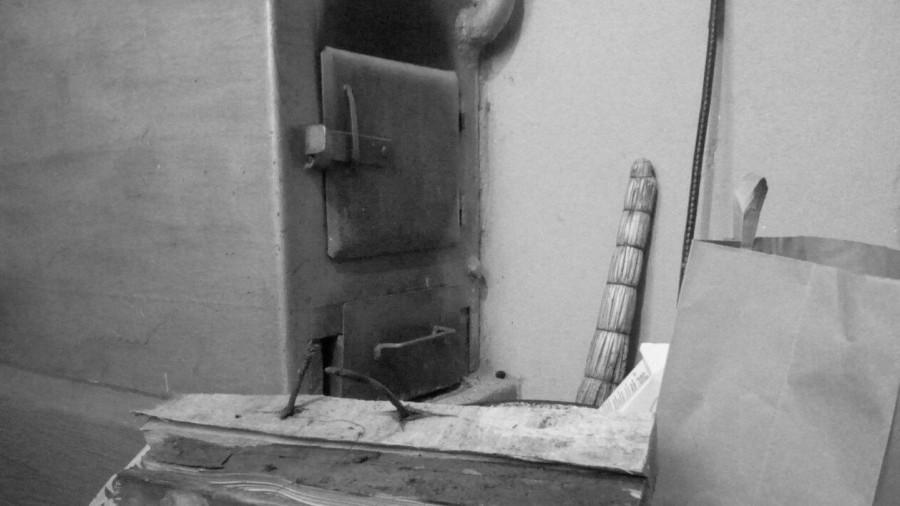 Отопительная печь.