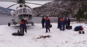 Поисково-спасательная операция на Телецком озере. 22 февраля 2017 года.