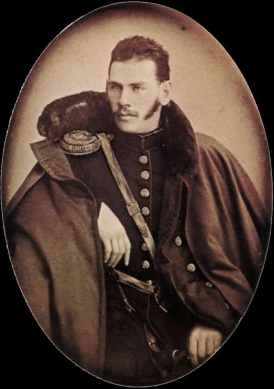 Граф Лев Толстой, 1854 год, Российская Империя