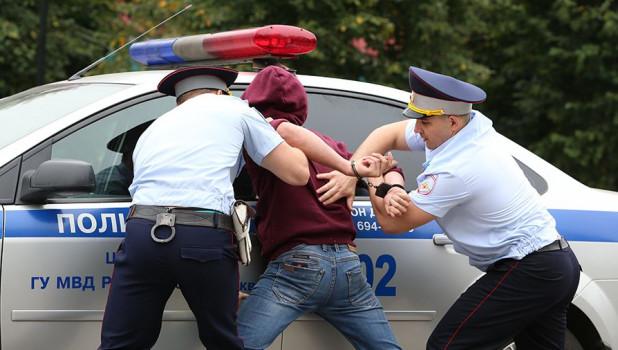 Полиция. Задержание.